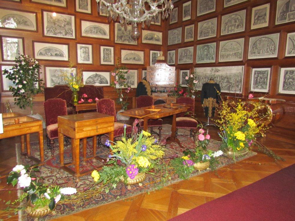 Kamelienausstellung Schloss Rajec3 Nationalinstitut fur Denkmalpflege Tschechische Republik
