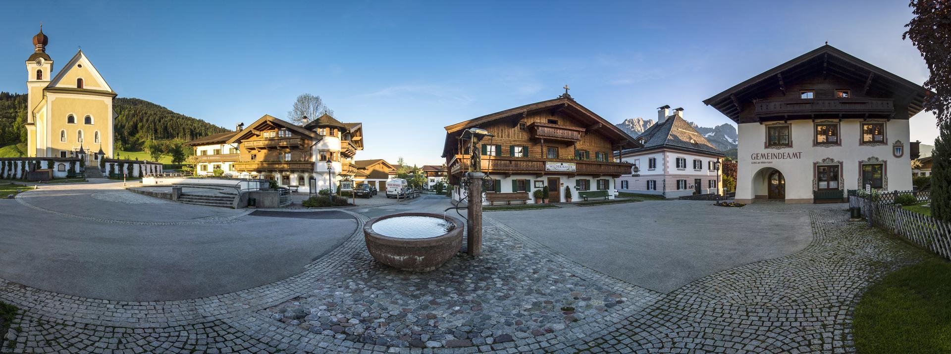 Panorama dorfplatz going foto von felbert reiter danielreiterpetervonfelbert